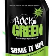 Rockin Greens Shake It Up Pail Freshener