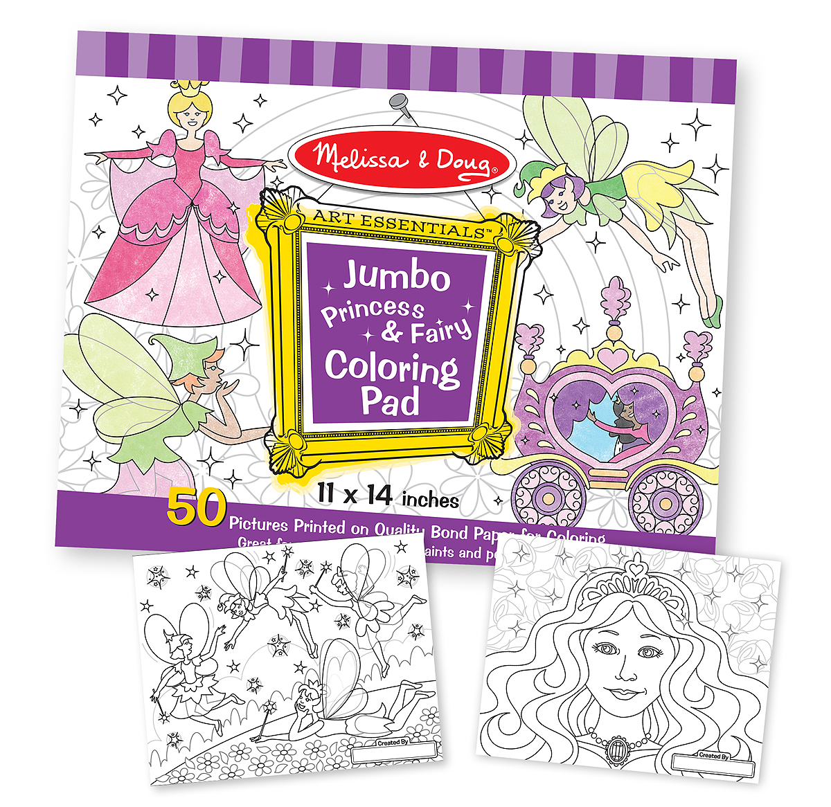 Melissa And Doug Jumbo Colouring Book | Coloring Page