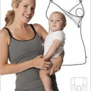Glamourmom Nursing Bra Long Top